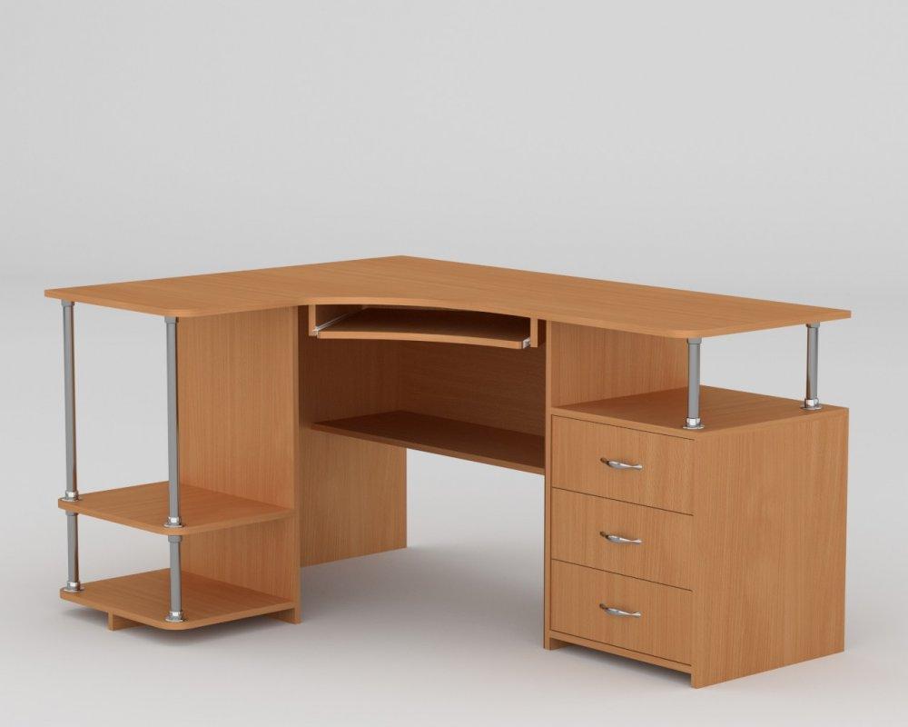 Угловой стол для школьника