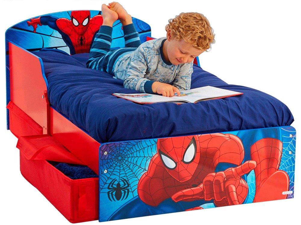 детская кровать человек паук отличие белья