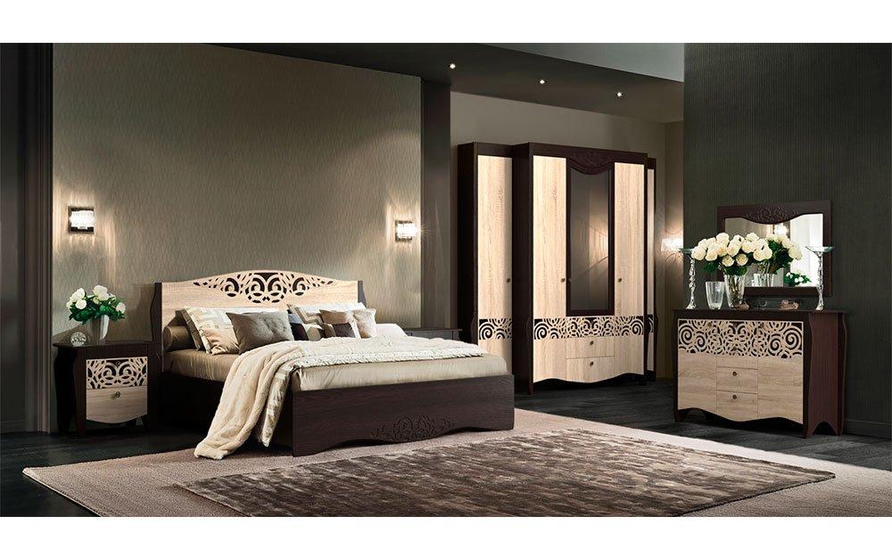 Мебель и элементы декора в спальне