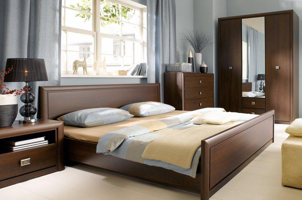 Спальня с гардеробной: свежие идеи для разграничения пространства