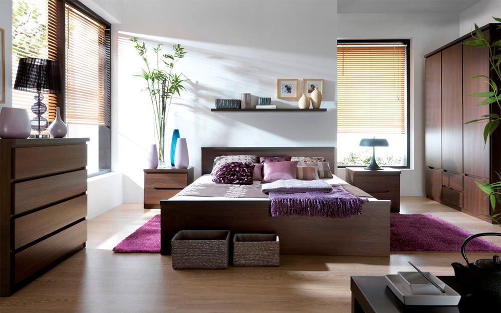 Как создать спальню из модульной мебели?
